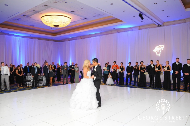 Baltimore Marriott Waterfront Wedding Reception Bride And Groom Candid Ceremony First Dance 3
