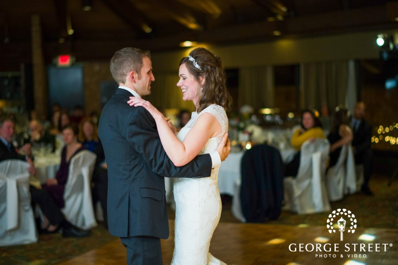 Home Wedding Photographer Chicago Venues Hilton Indian Lakes Resort Bride And Groom First Dance 4