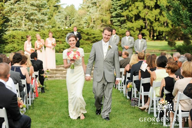 The Morton Arboretum Outdoor Wedding Ceremony 2