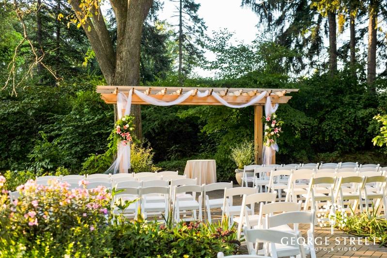 The Morton Arboretum Outdoor Wedding Ceremony 6