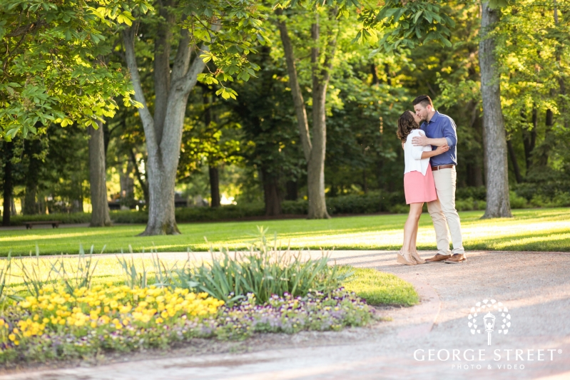 Cantigny Gardens and Park Engagement Photography | George Street ...