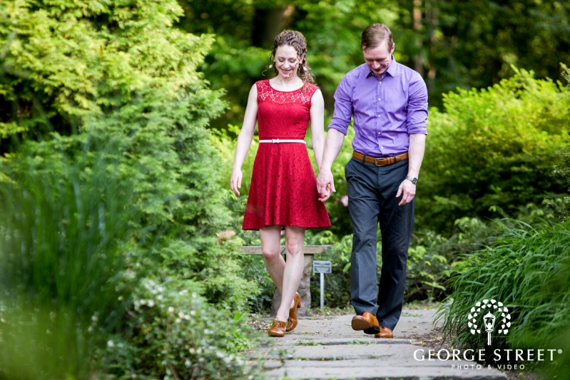 Brookside Gardens Engagement Photography | George Street Photo ...
