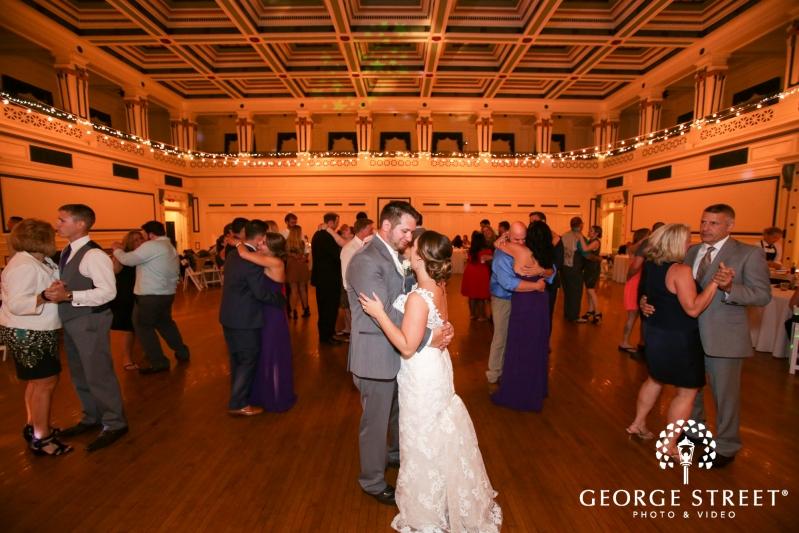 Solrs And Sailors Memorial Hall Wedding Reception 8