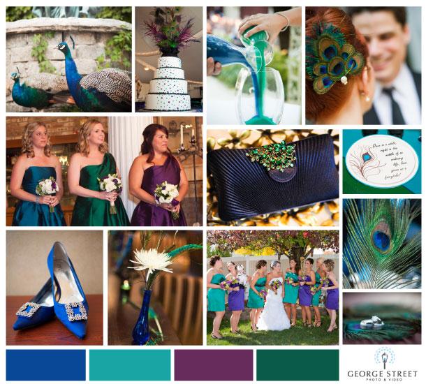 Inspiration A Peacock Feather Fairytale