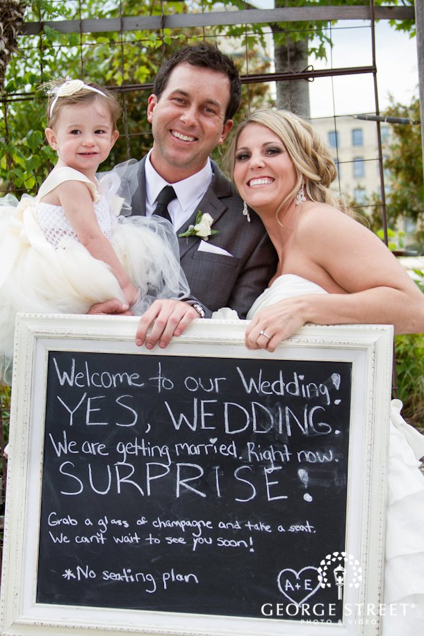 Surprise for wedding