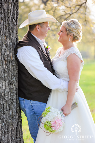 Rustic wedding at Modeana Texas