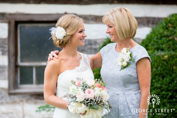 Young Mother Of The Bride: Morgan & Young: Rustic Hiddencroft Vineyards Wedding, D.C