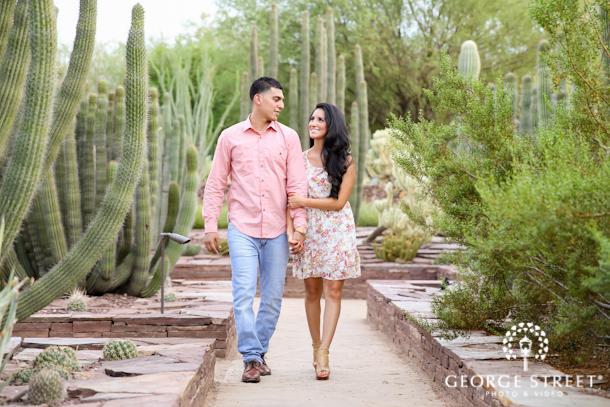 Wendy Andres Desert Botanical Gardens Engagement