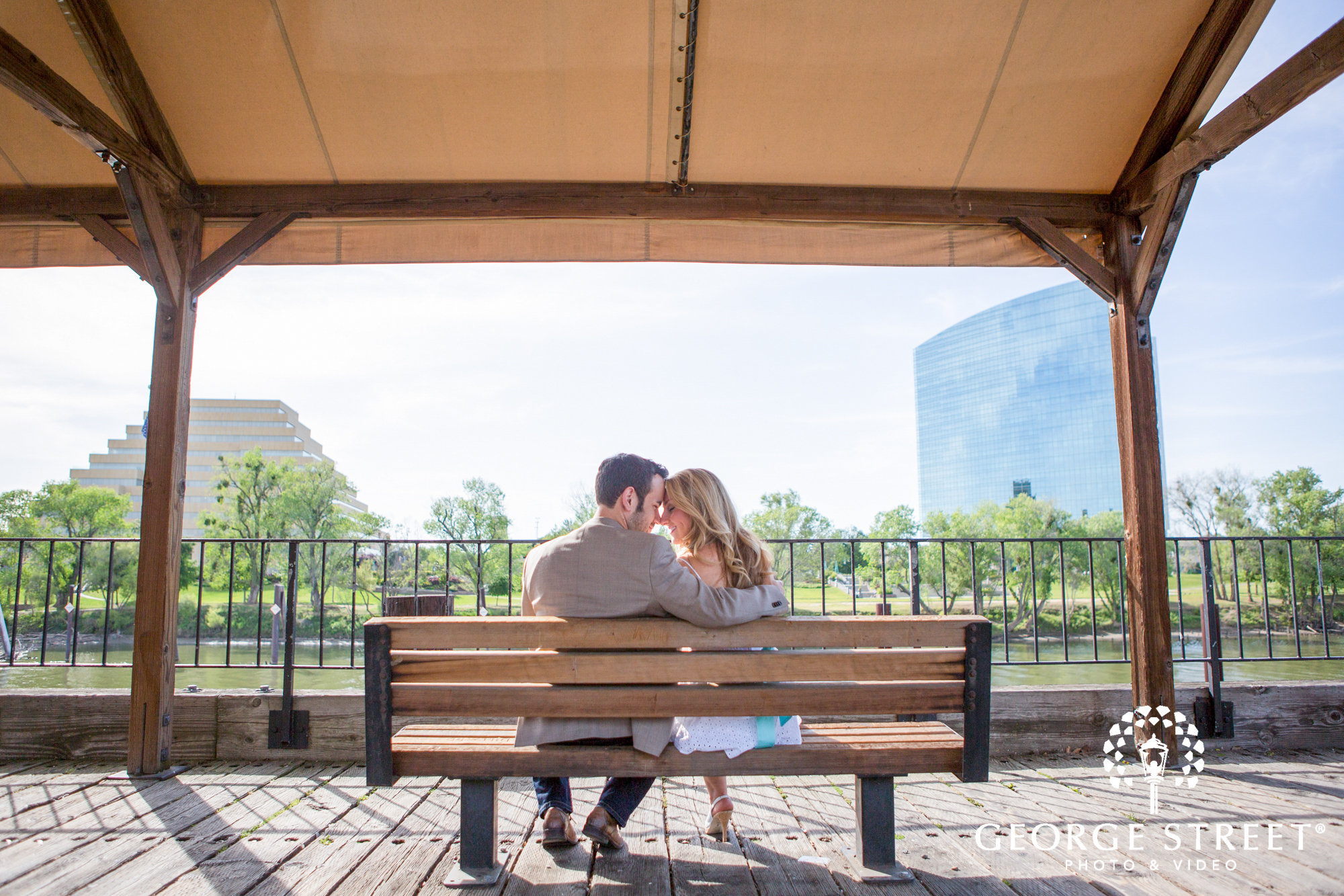 George Street's Top Engagement Session Location in Sacramento