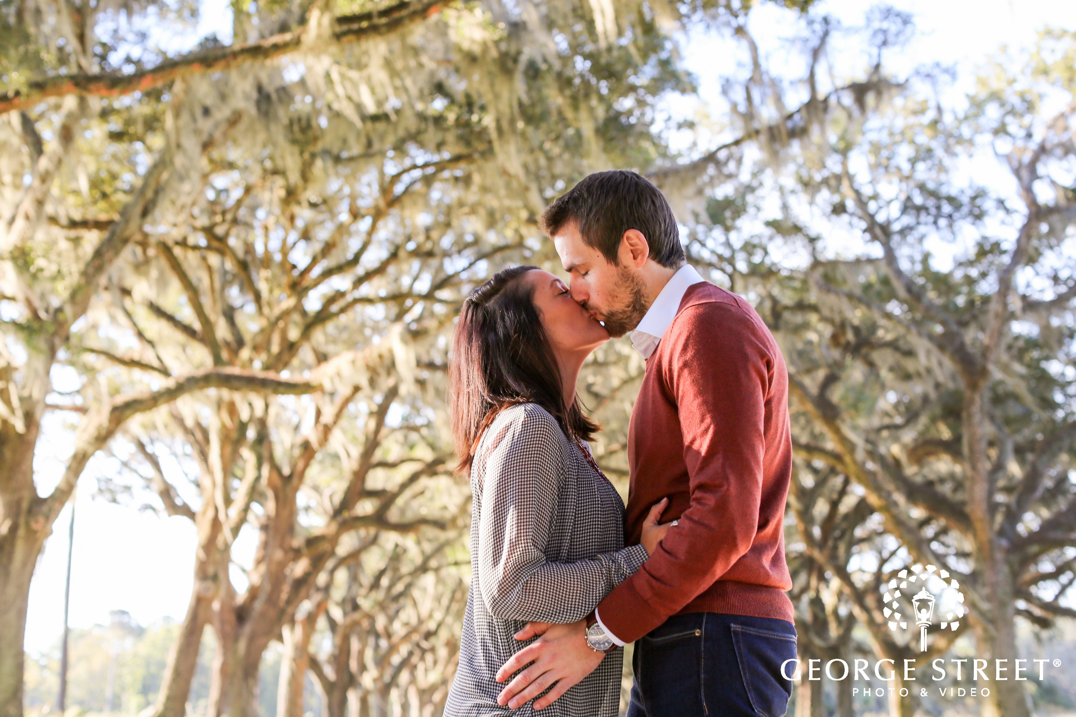George Street's Top 3 Engagement Session Locations in Savannah