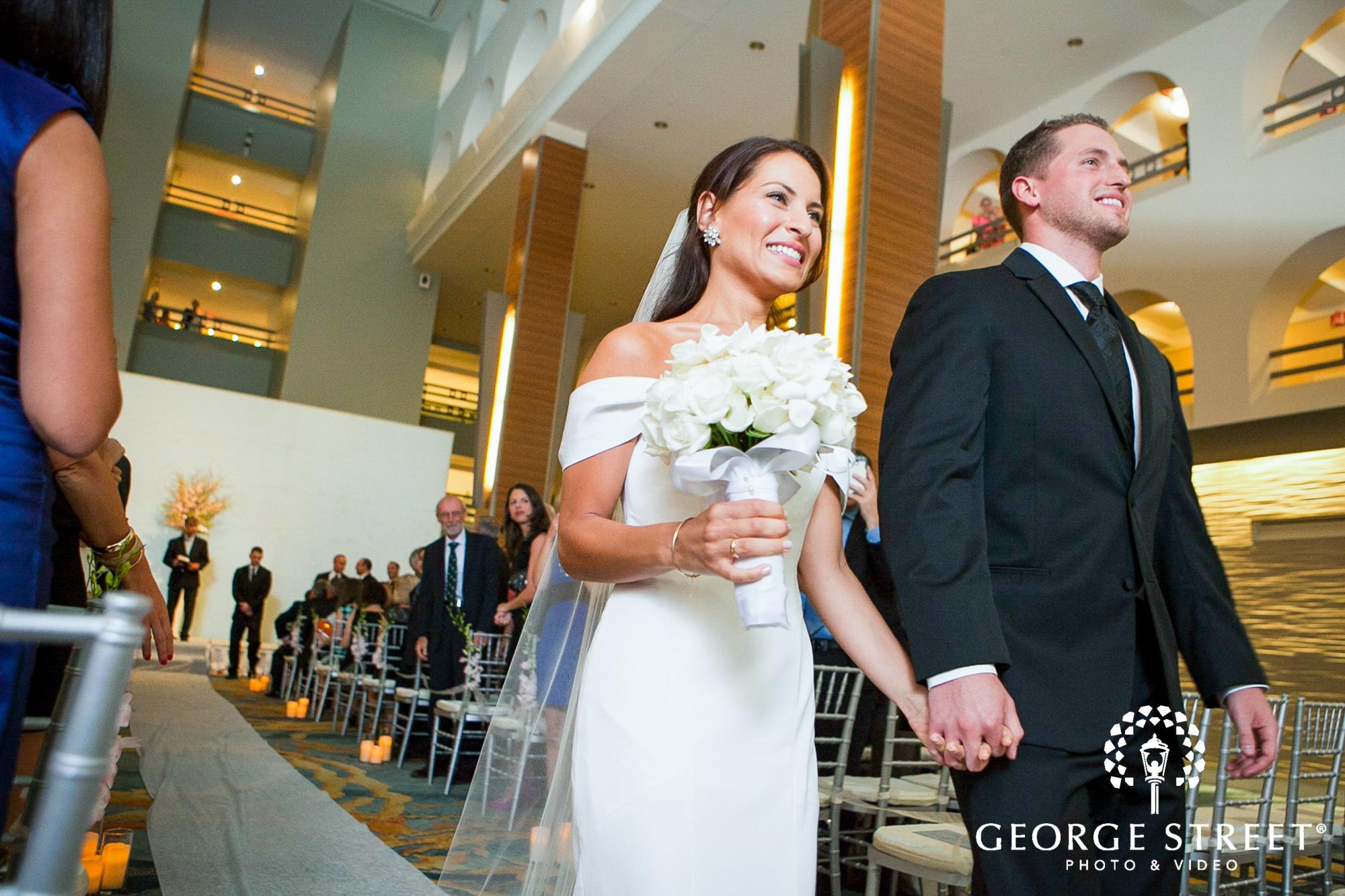 boston marriott long wharf wedding ceremony 2