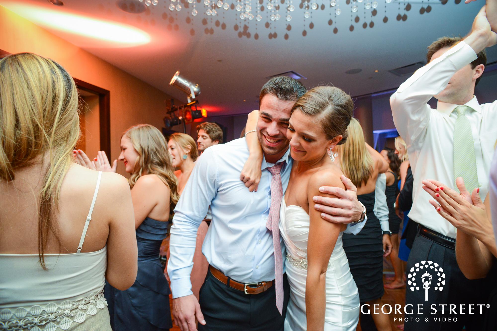 candid bride at reception 2