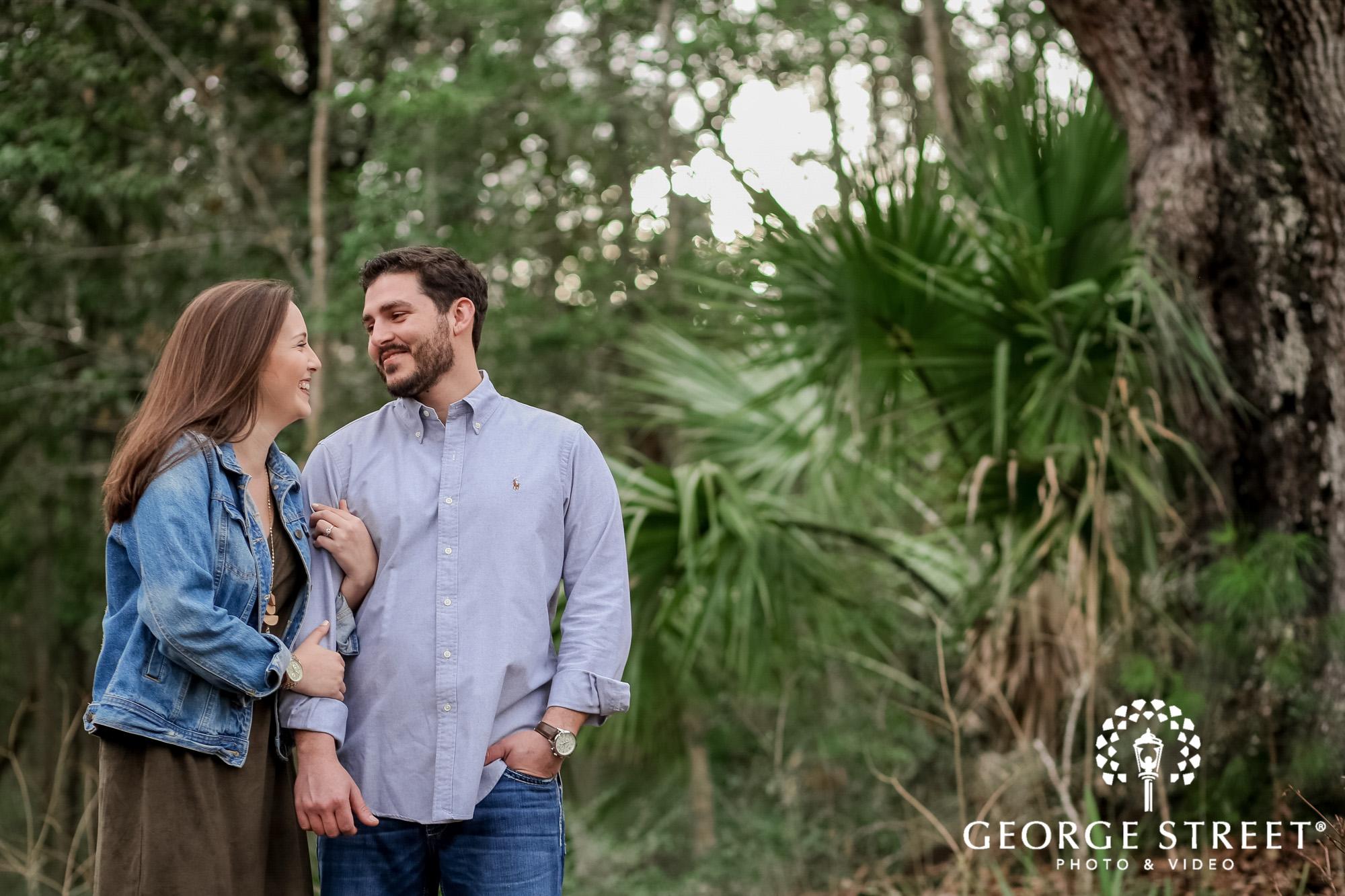 runnymede plantation sweet greenery charleston engagement photography