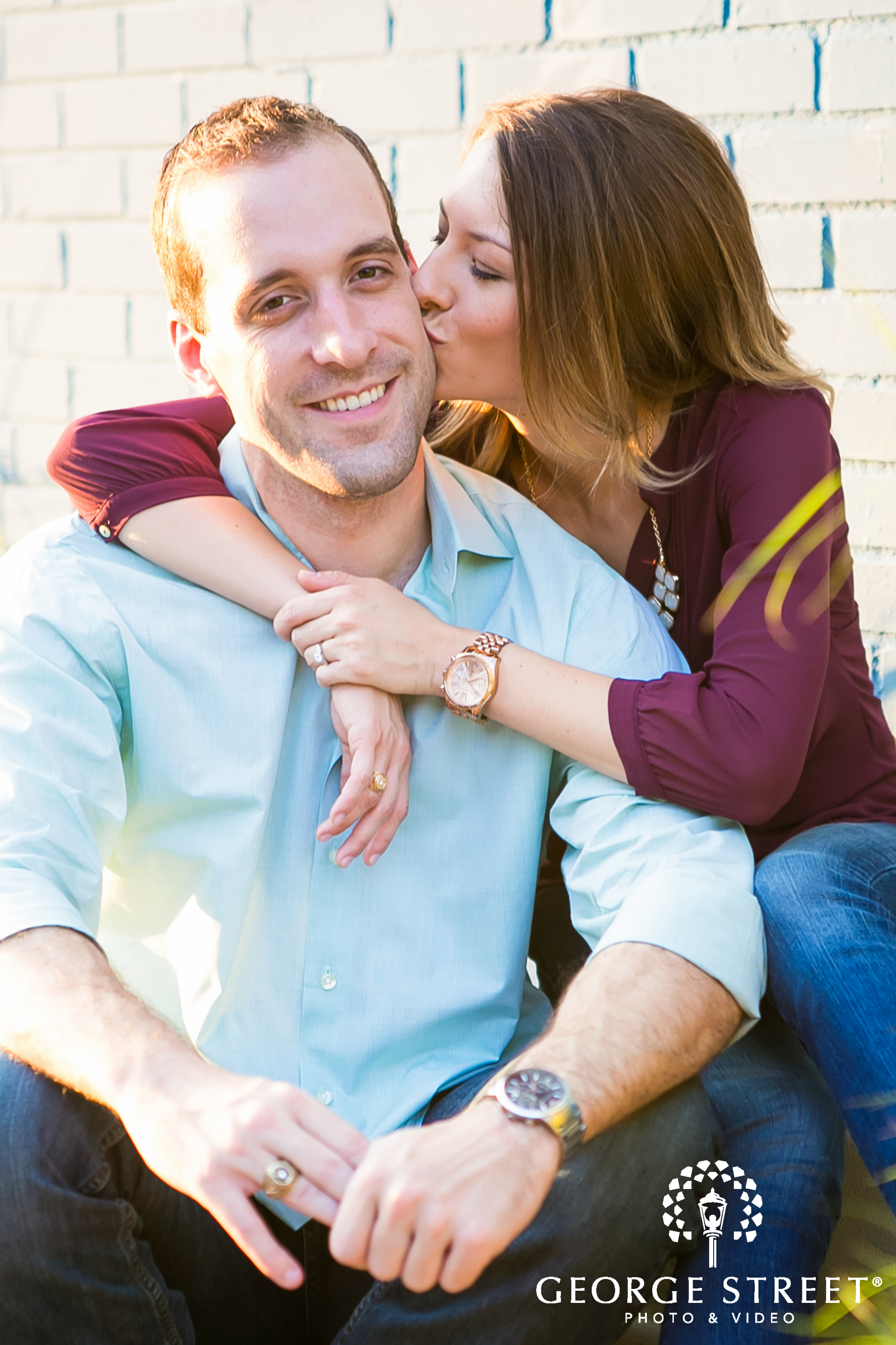 casual engagement session ideas