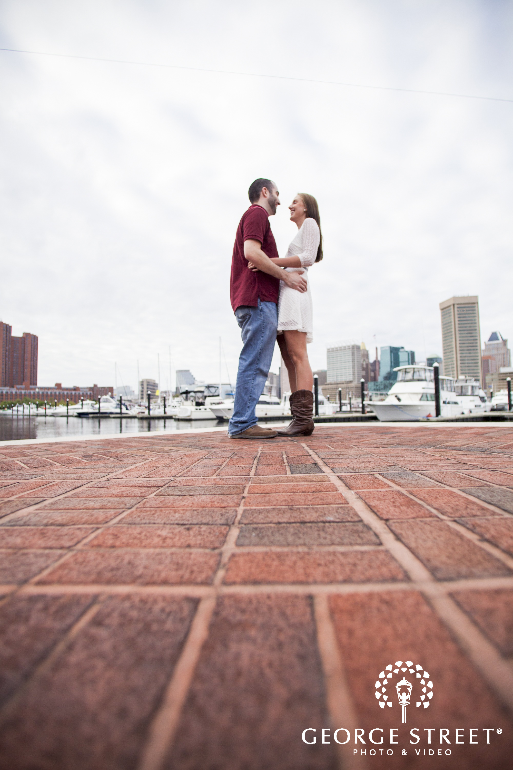 Federal Hill Park Engagement Photography George Street