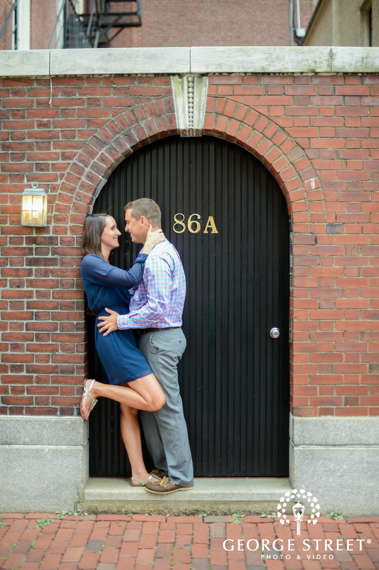 Boston Common Engagement Photography George Street Photo