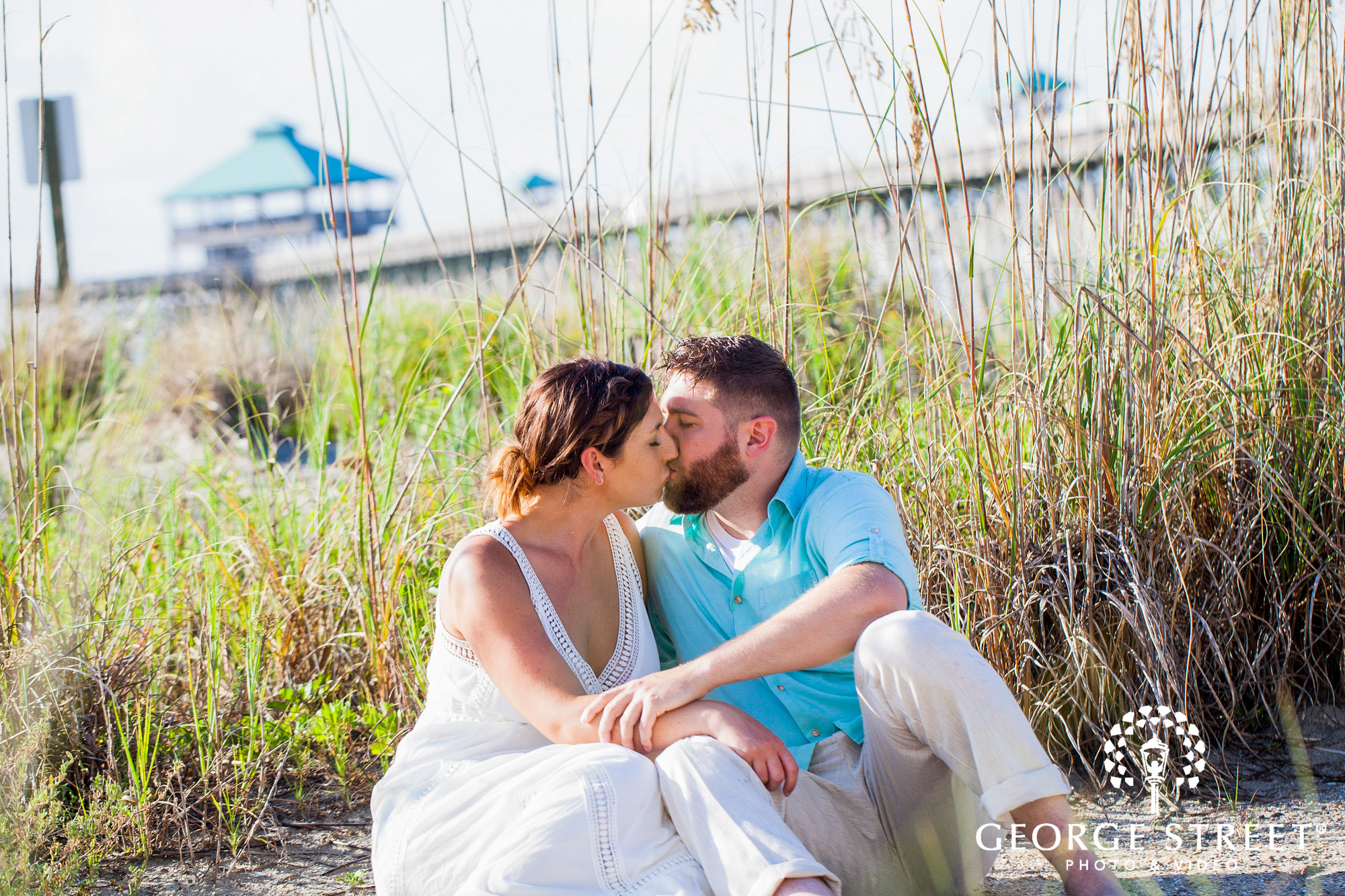 bright and airy charleston engagement photo session 4
