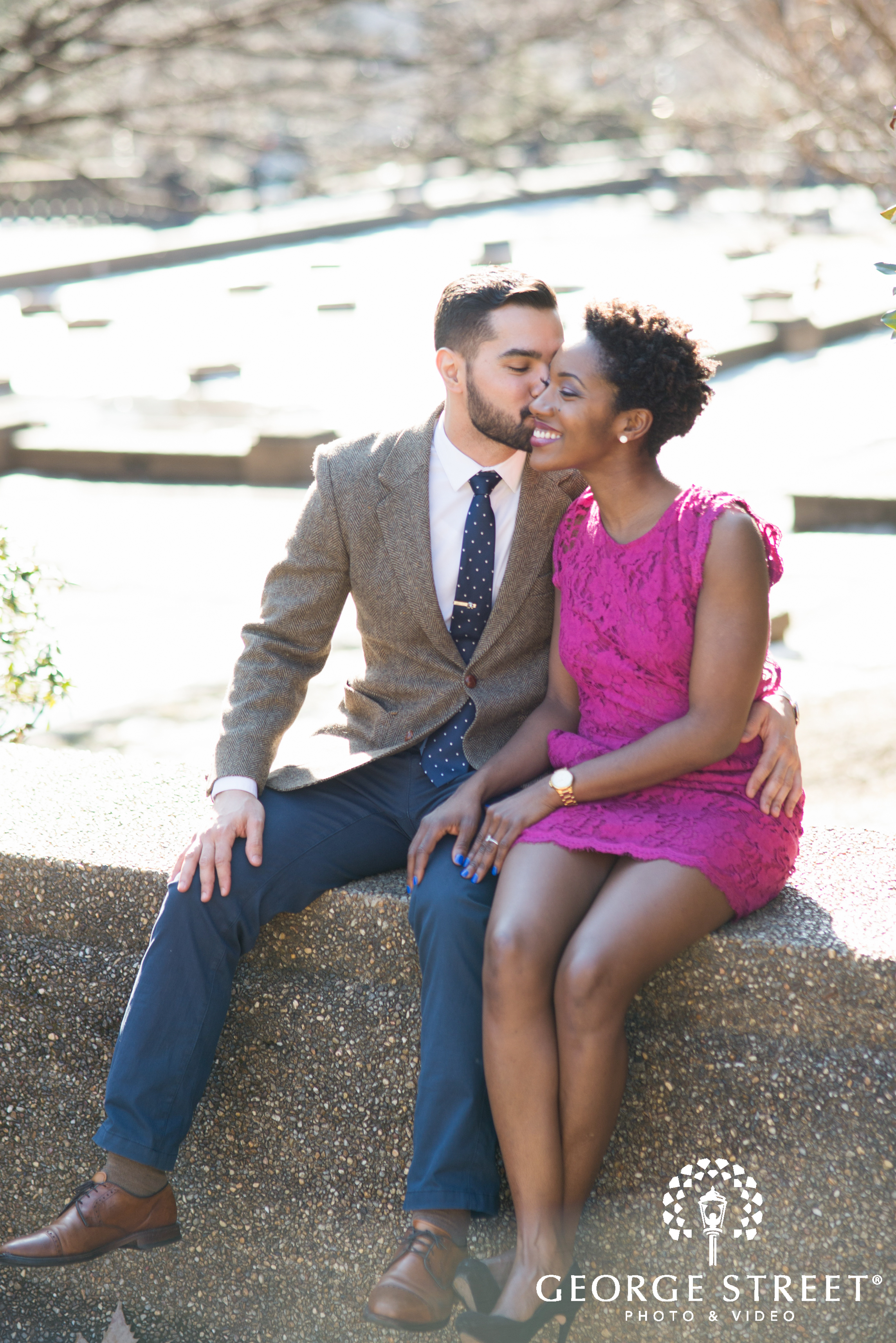 candid couple meridian hill park engagement