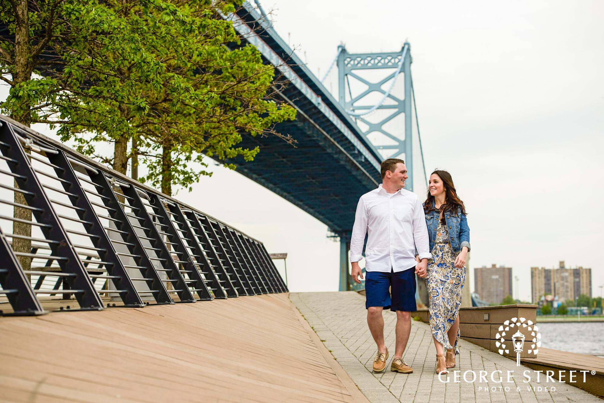 beautiful race street pier engagement photos philadelphia 4