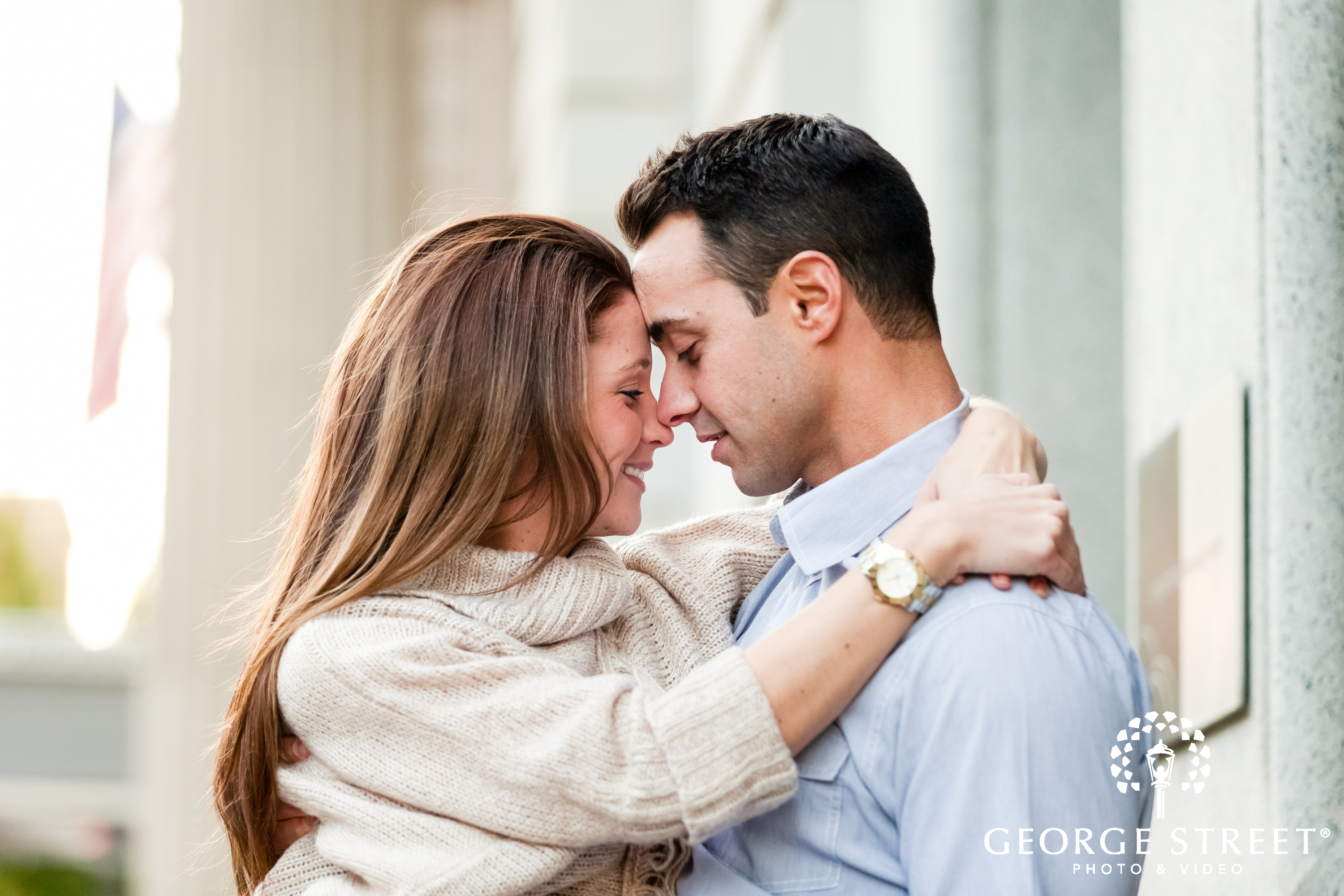 engagment session in love photo