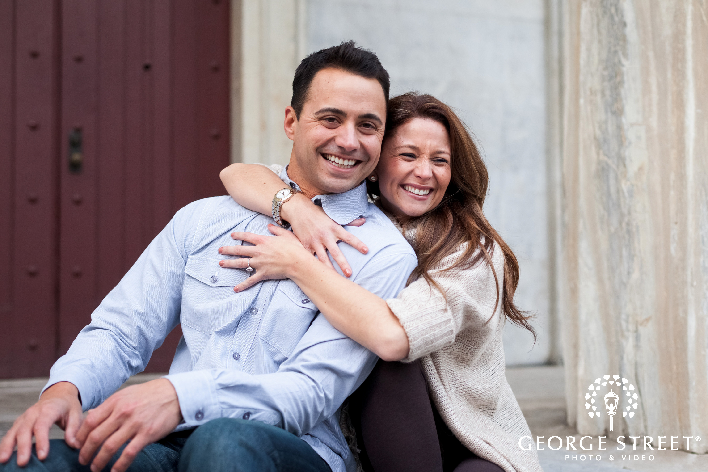 philadelphia engagement session couple