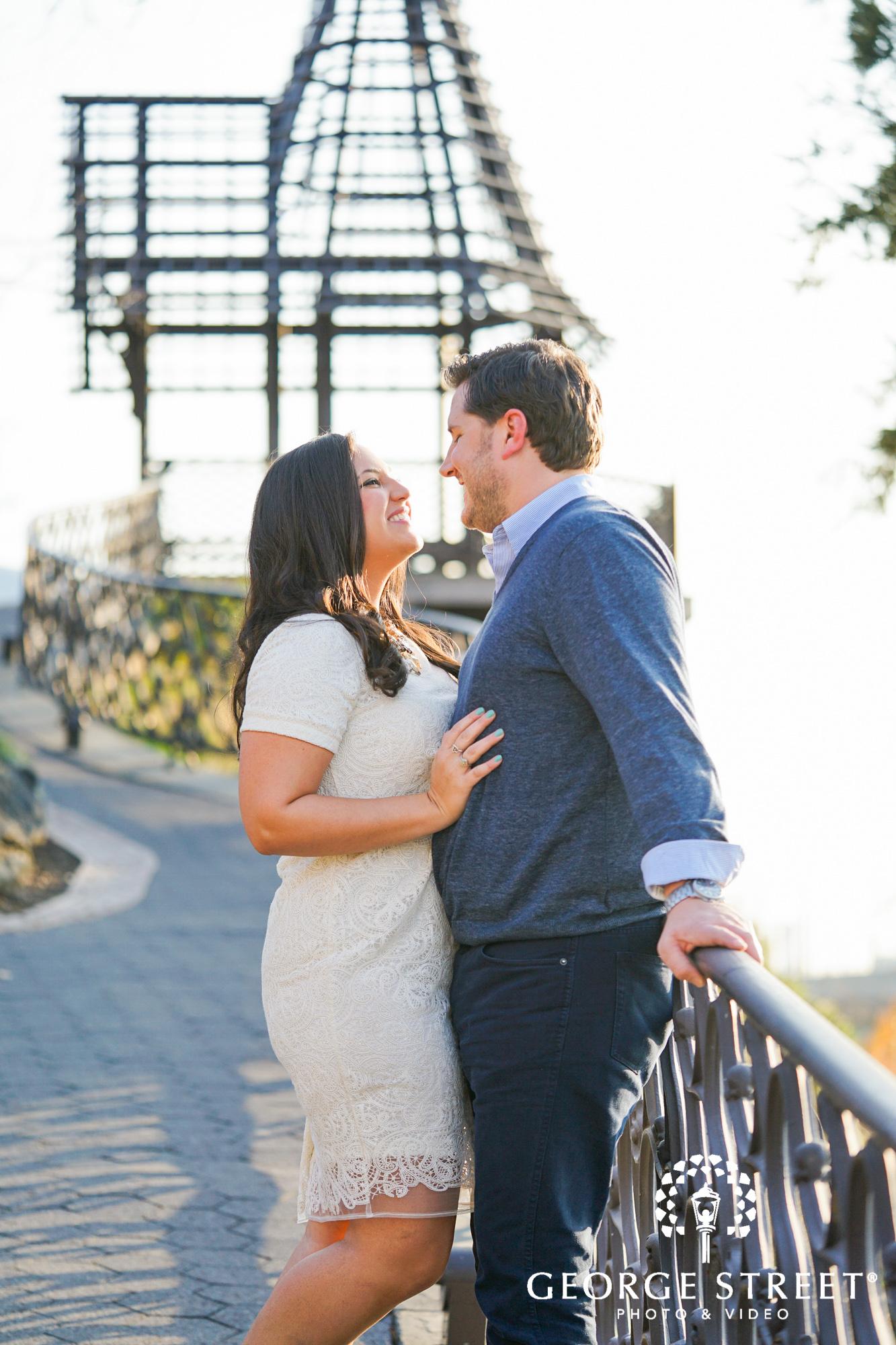 bright and sunny engagement photos at boathouse row philadelphia 5