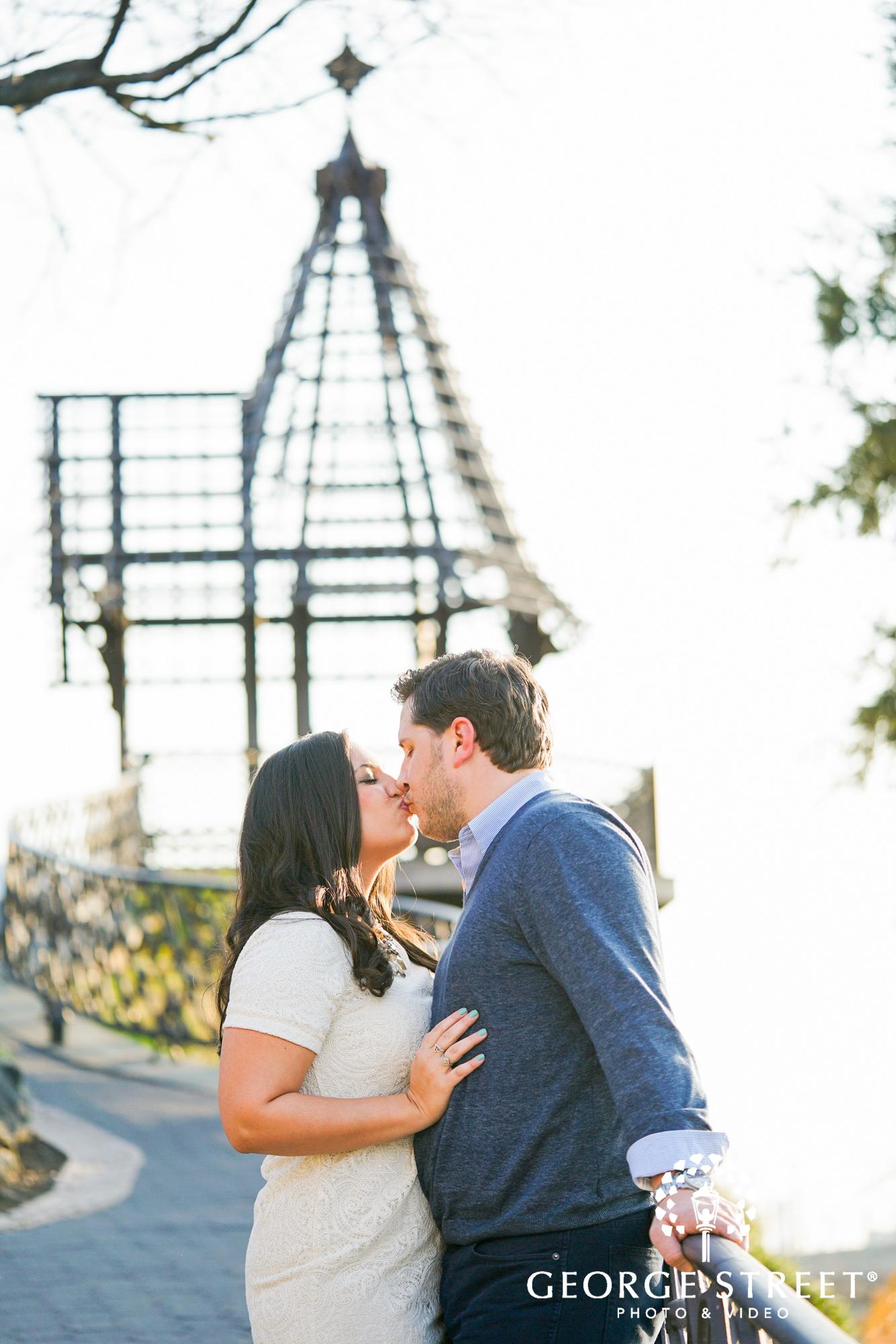 bright and sunny engagement photos at boathouse row philadelphia 6