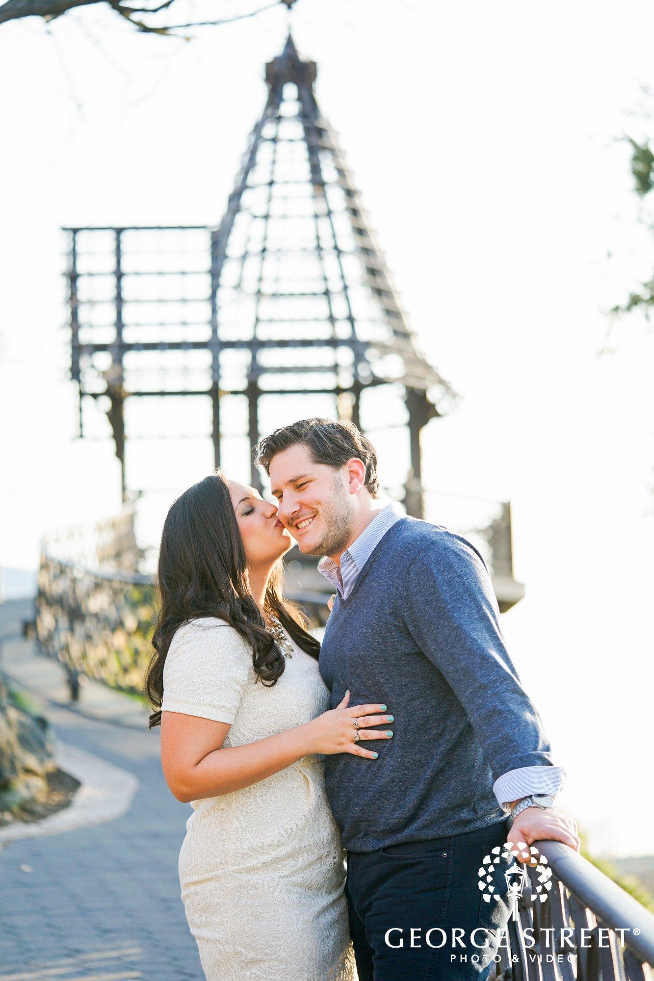 bright and sunny engagement photos at boathouse row philadelphia 7