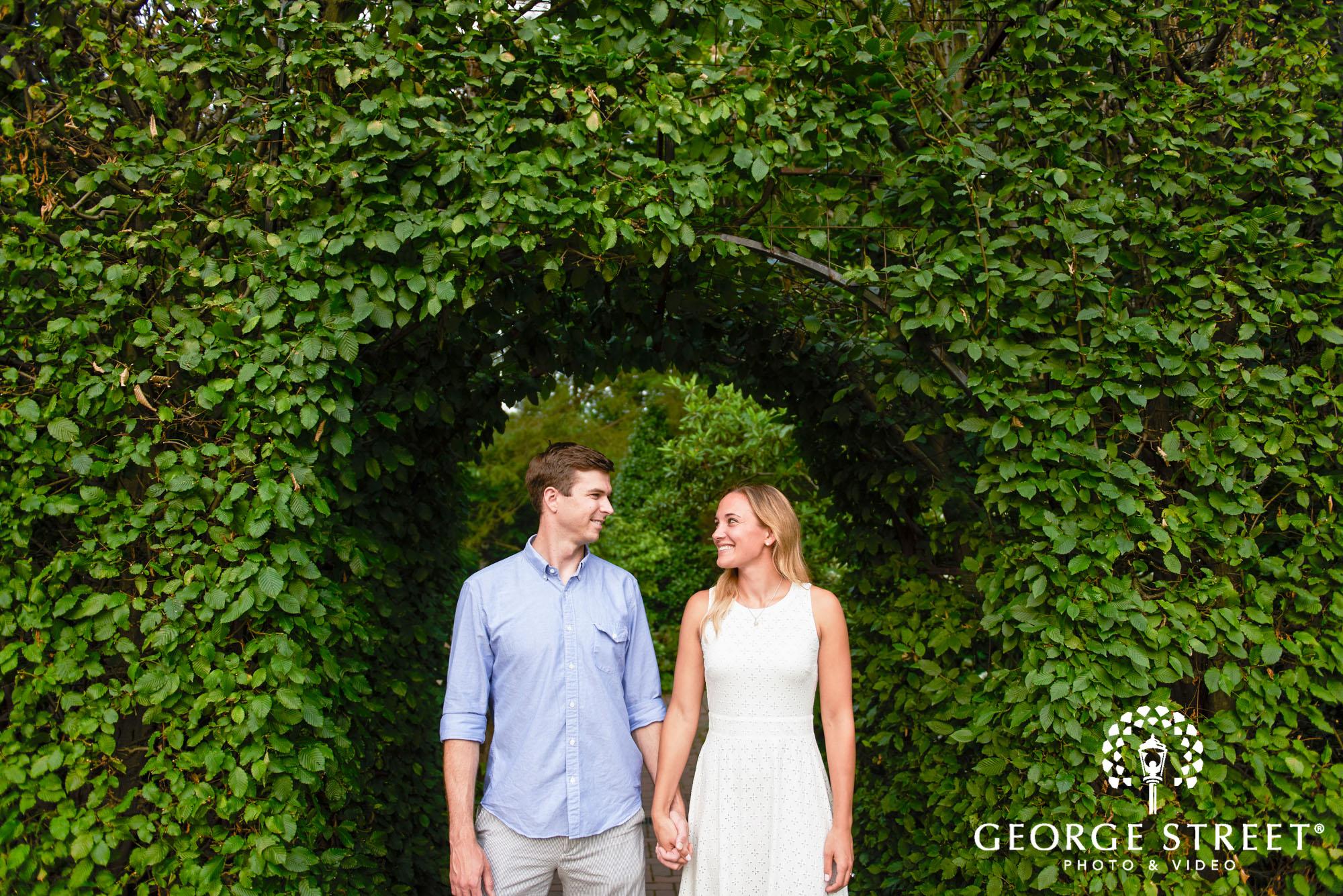 philadelphia summer engagement photos at longwood gardens 4