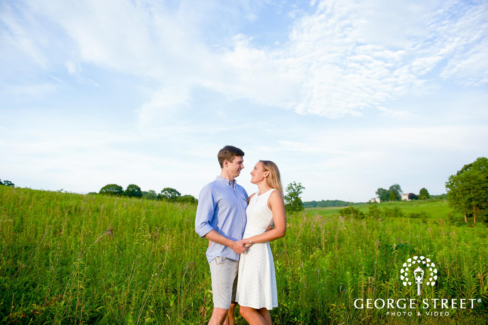 philadelphia summer engagement photos at longwood gardens 6