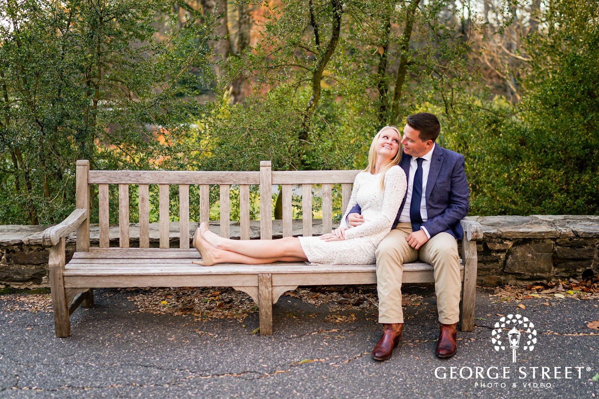 cheerful fall engagement portraits in philadelphia 10