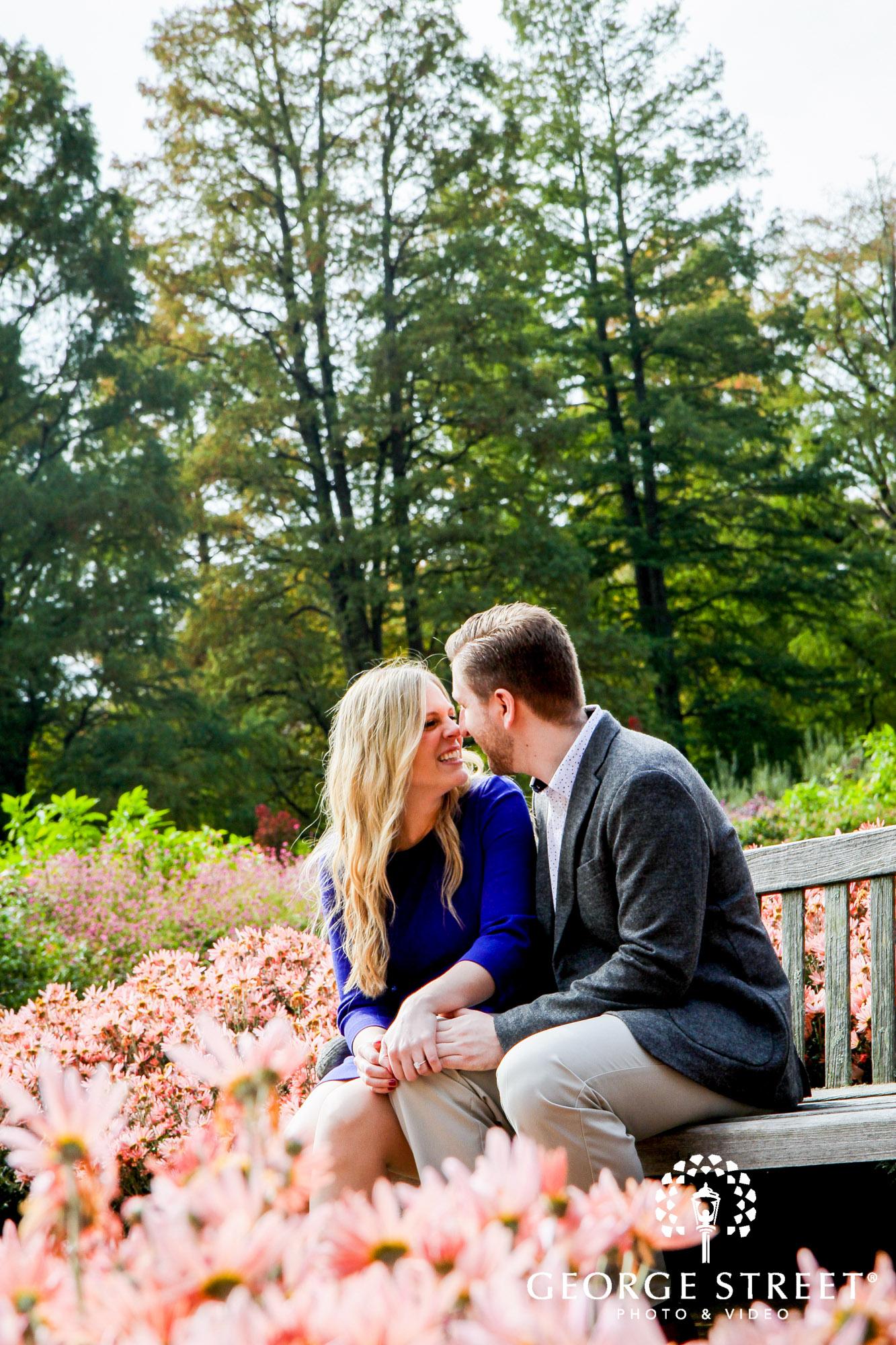 cheerful fall engagement portraits in philadelphia 4