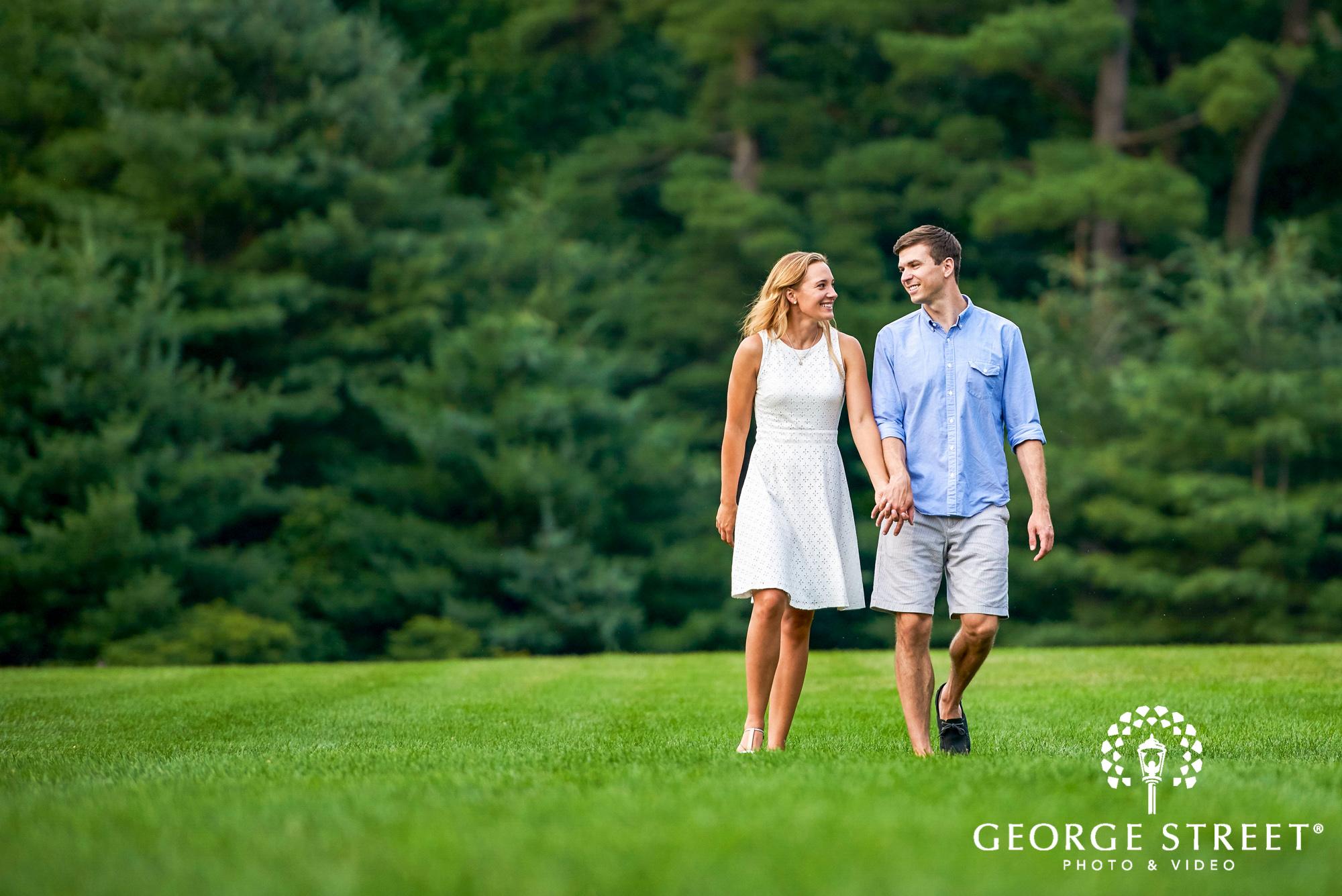 cheerful summer engagement photos philadelphia 12