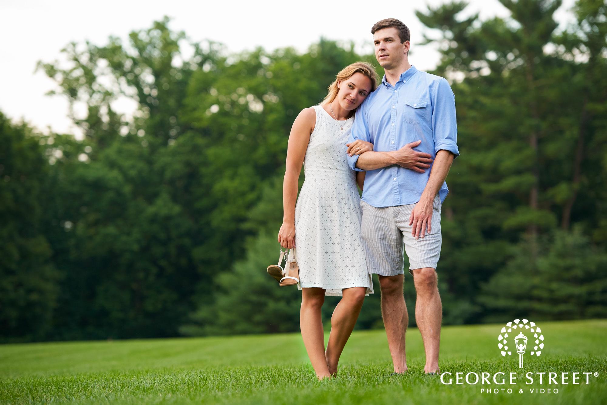 cheerful summer engagement photos philadelphia 13