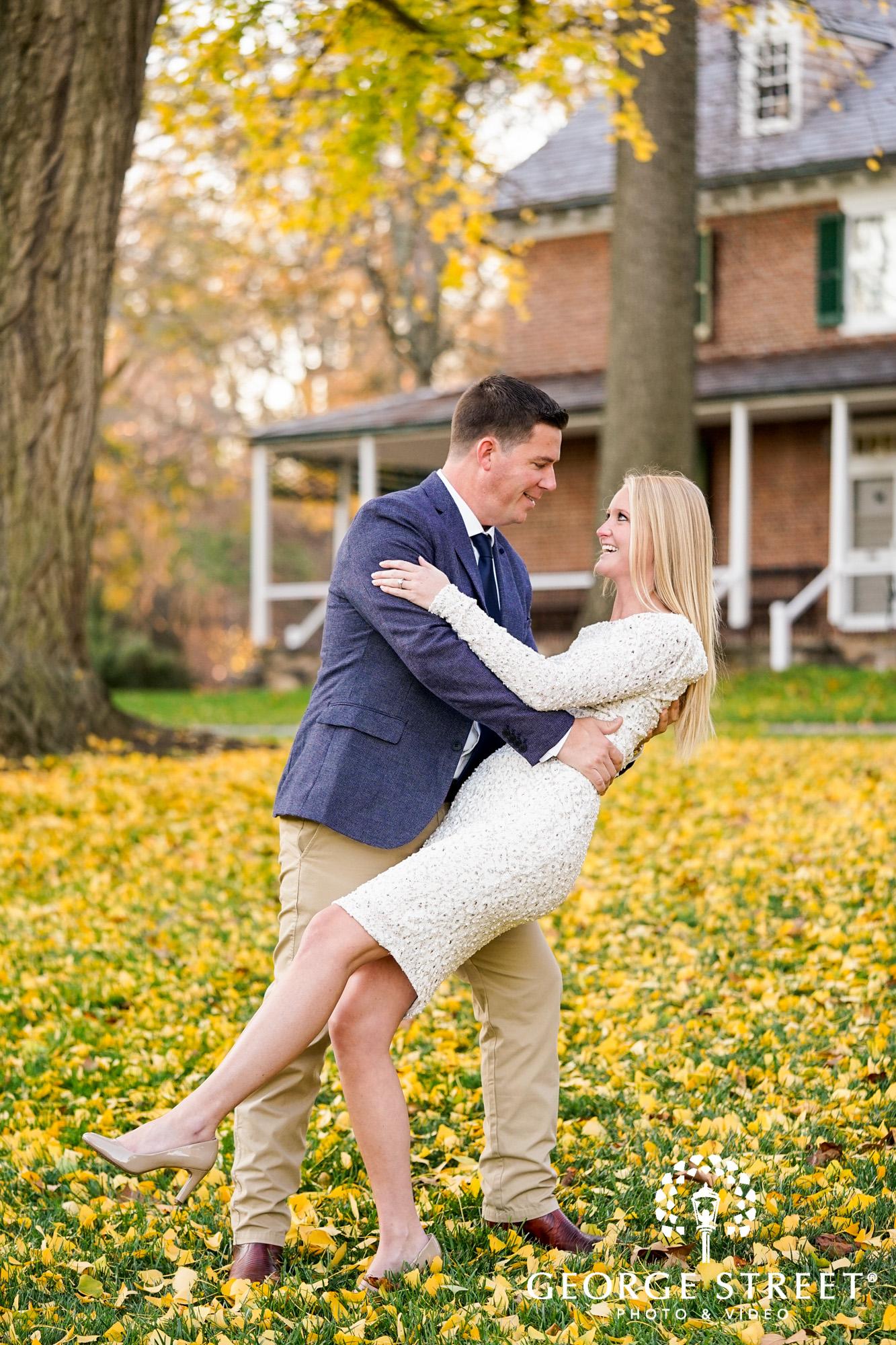 fall engagement photo session at longwood gardens philadelphia 14