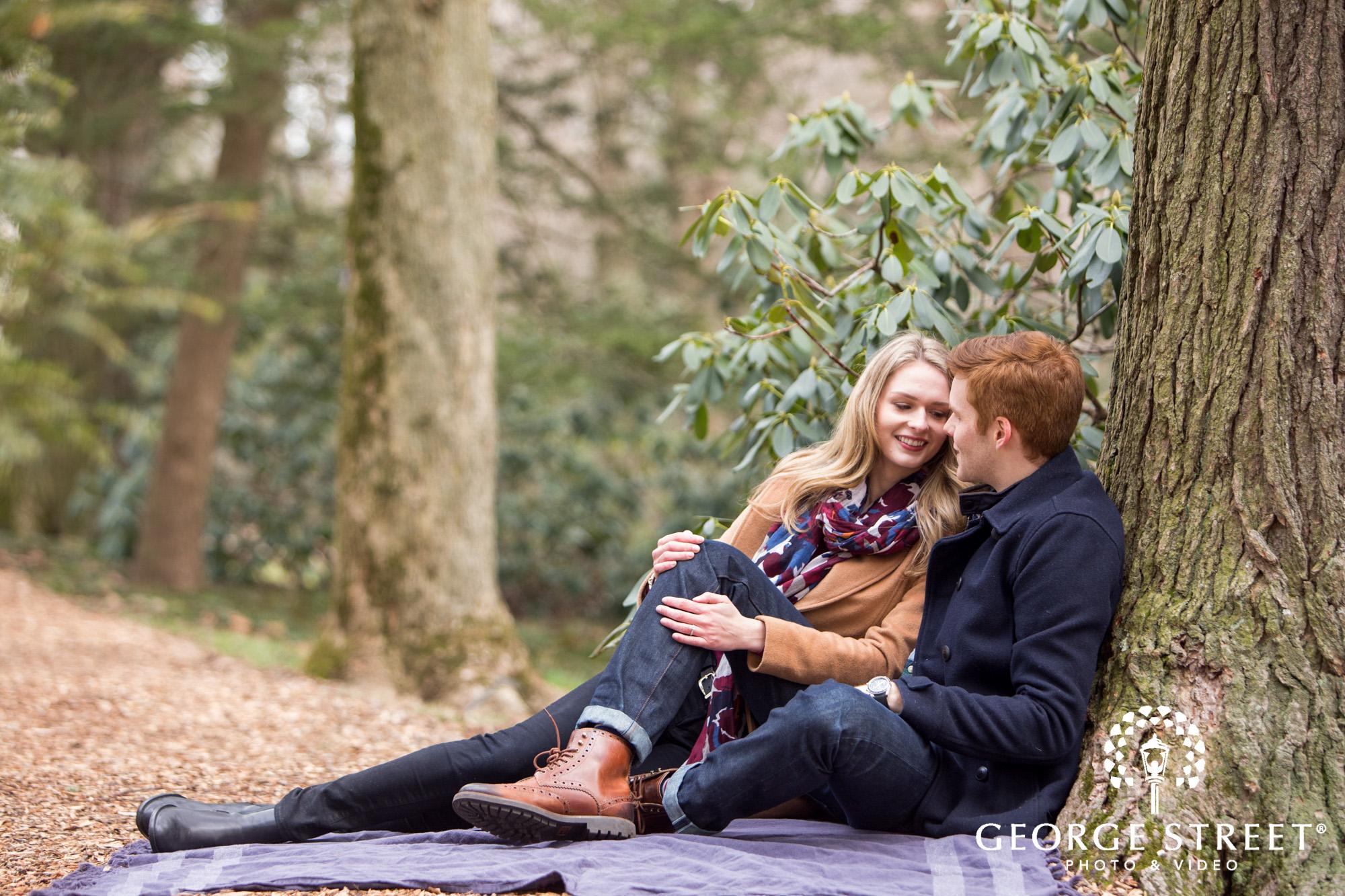 fall engagement photo session at longwood gardens philadelphia 17