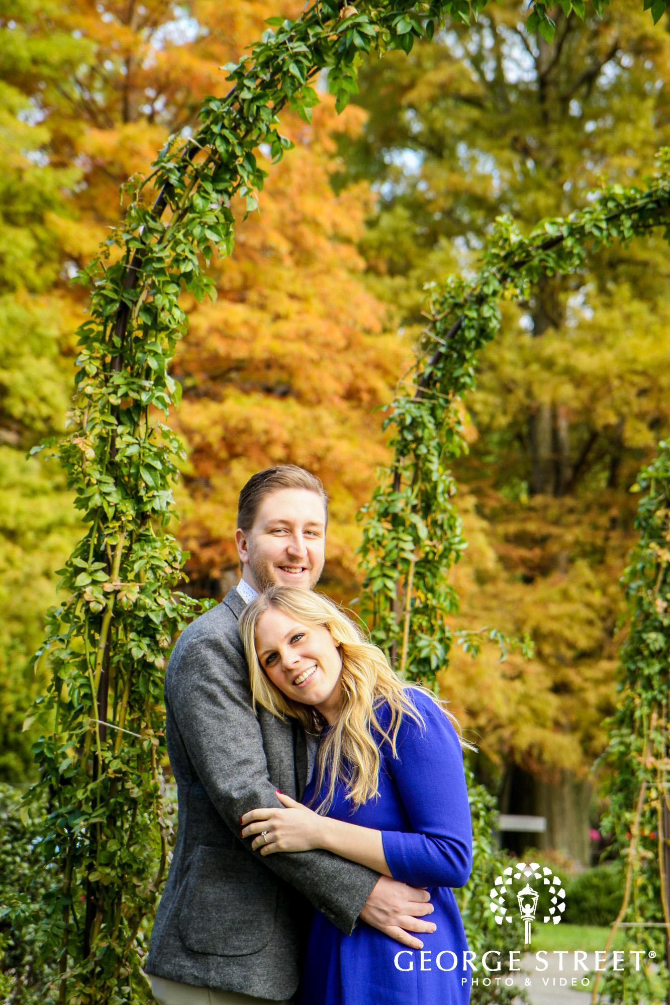 fall engagement photo session at longwood gardens philadelphia 2