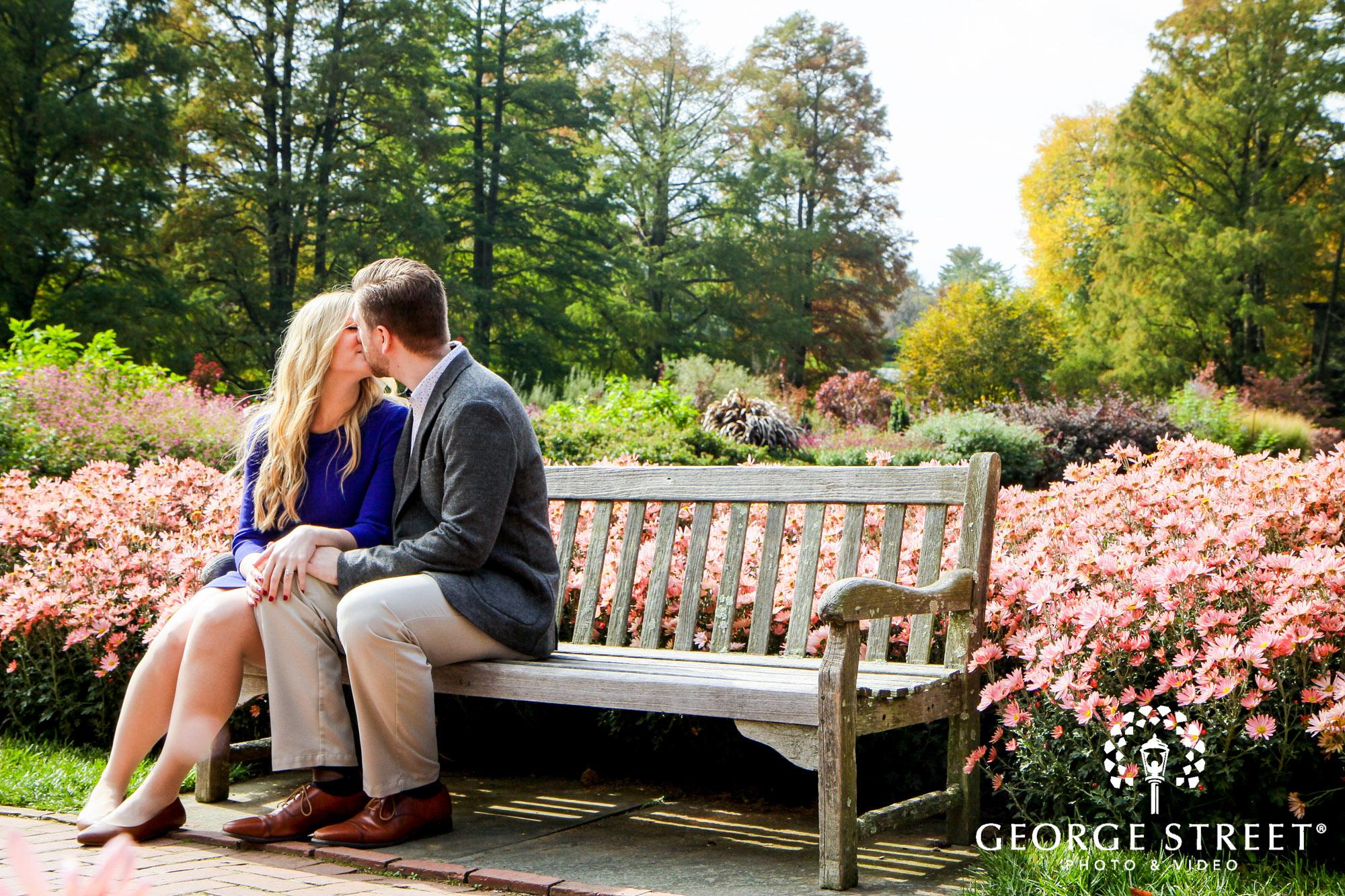 fall engagement photo session at longwood gardens philadelphia 4