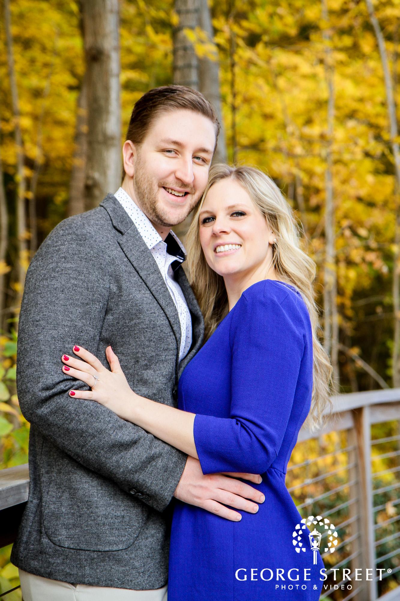 fall engagement photo session at longwood gardens philadelphia 6