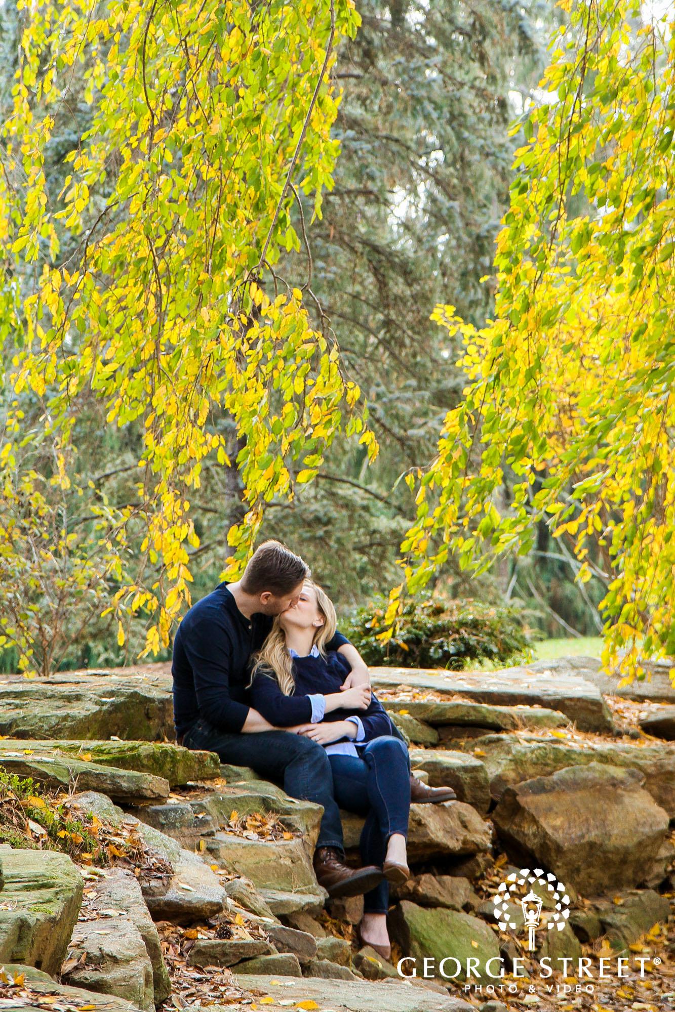 fall engagement photo session at longwood gardens philadelphia 8
