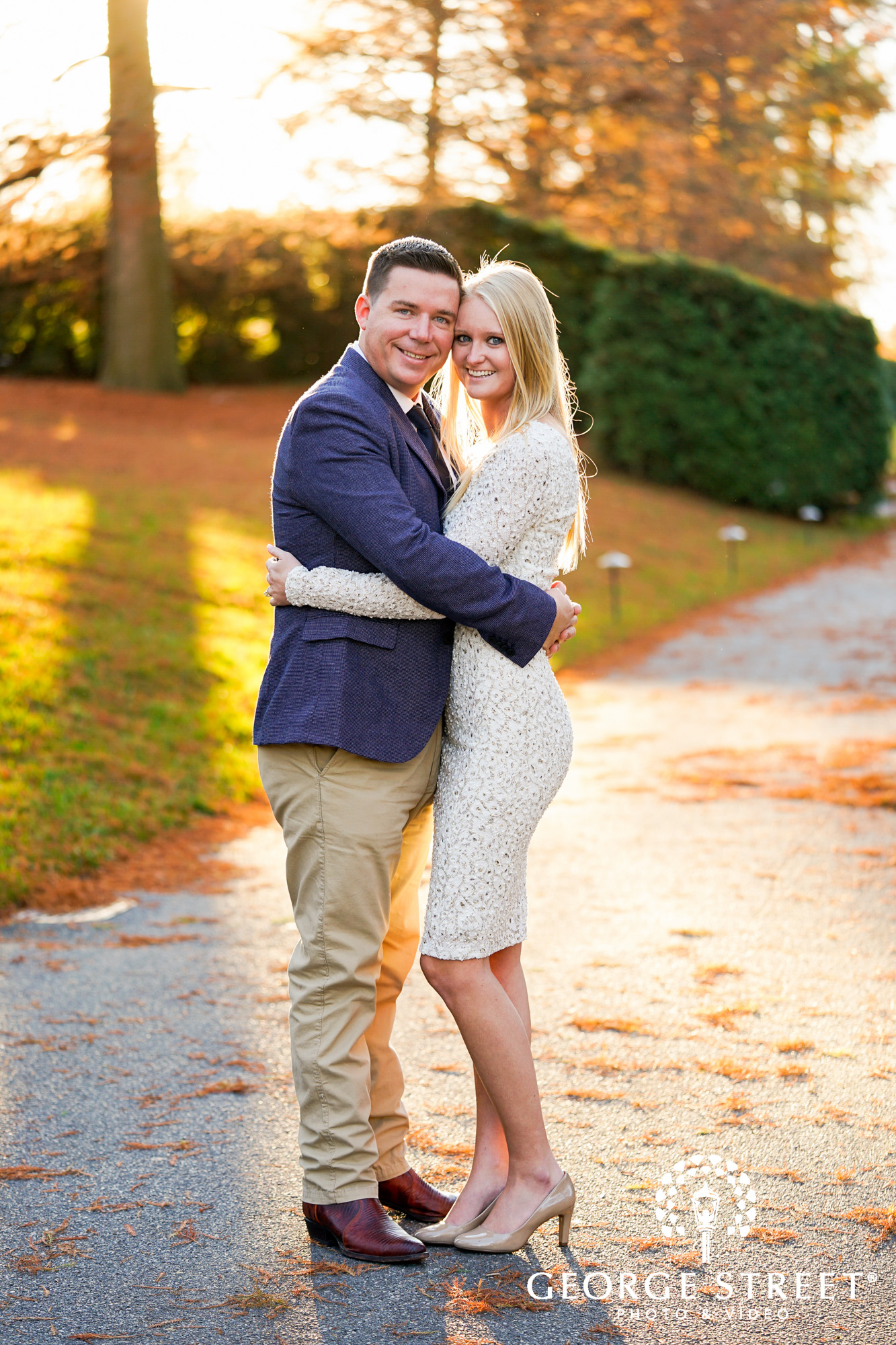 fall engagement photo session at longwood gardens philadelphia 9