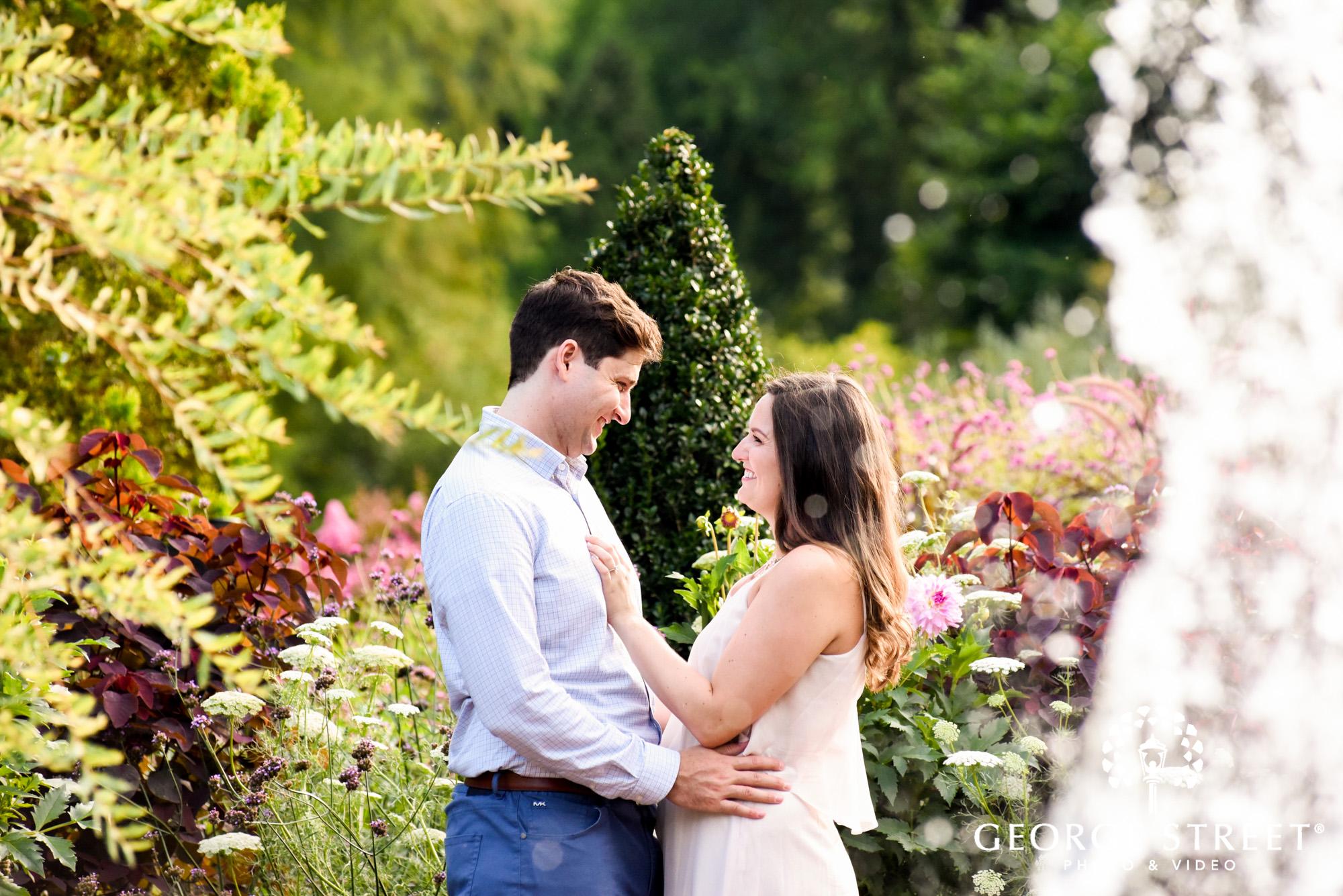 longwood gardens romantic philadelphia engagement photography 2