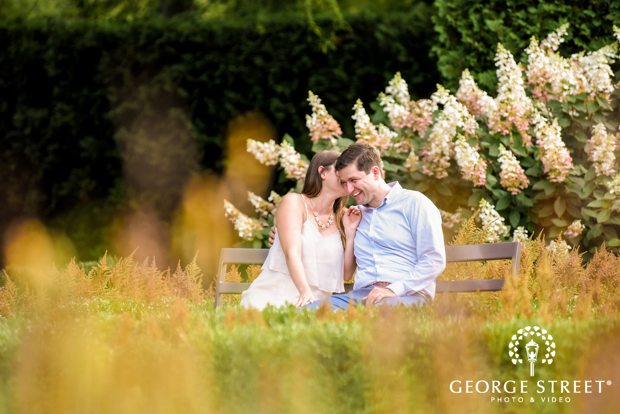 longwood gardens romantic philadelphia engagement photography candid 2