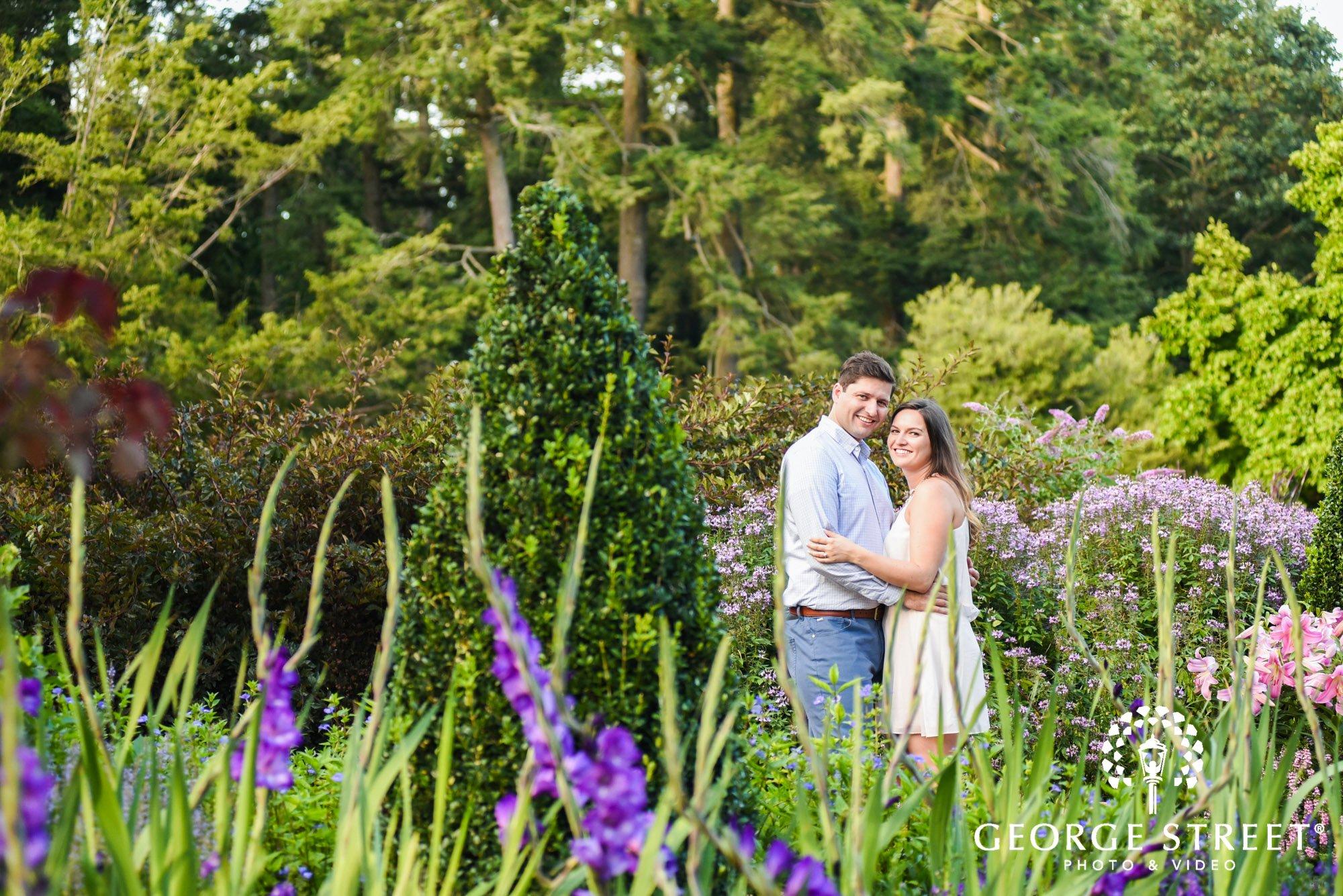 longwood gardens romantic philadelphia summer engagement photography session  2