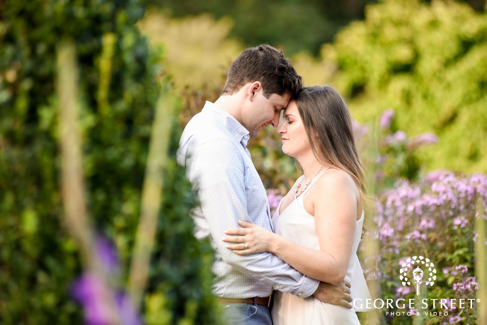 longwood gardens romantic philadelphia summer engagement photography session  3