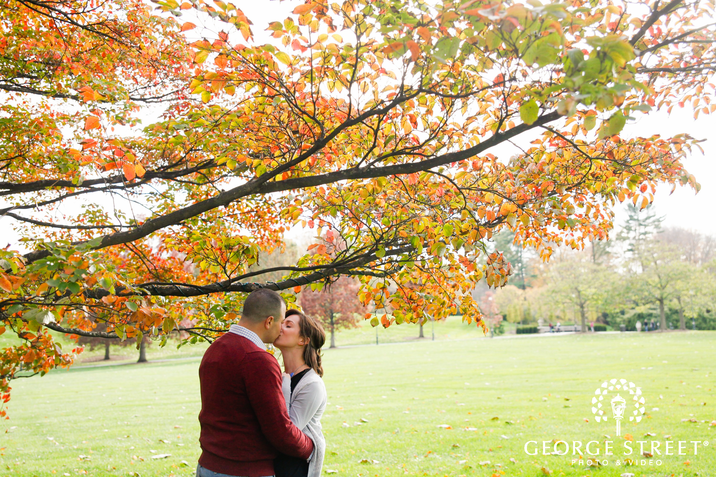 fall engagement session philadelphia