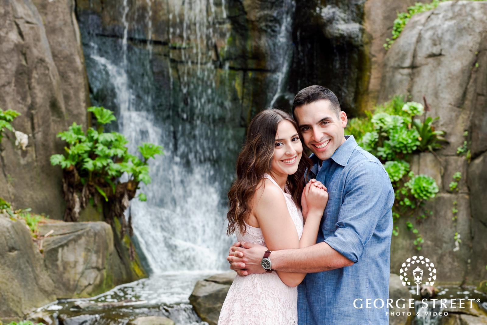 gorgeous outdoor engagement portrait at golden gate state park 2