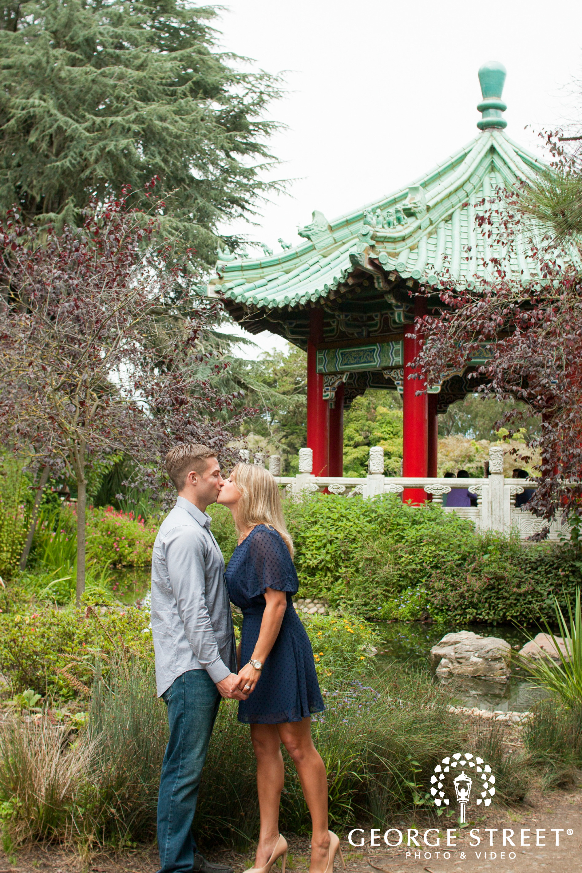golden gate park san francisco engagement session