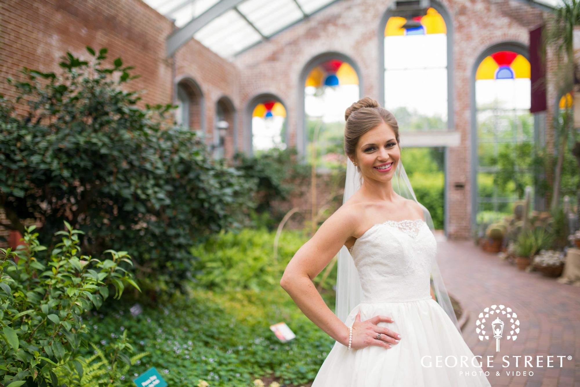 Missouri Botanical Garden Wedding Monsanto Hall
