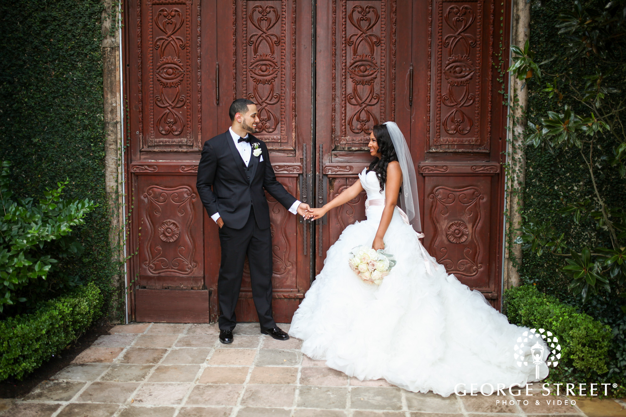the bell tower on 34th bride and groom wedding photos 2